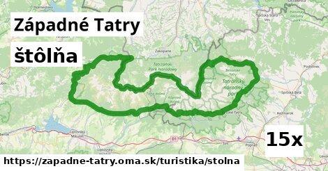 ilustračný obrázok k štôlňa, Západné Tatry