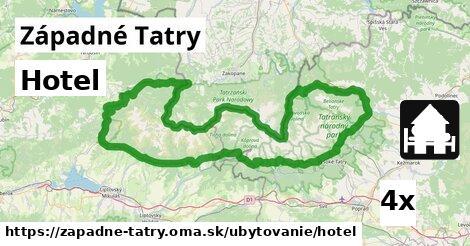 ilustračný obrázok k Hotel, Západné Tatry