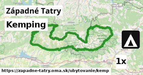 ilustračný obrázok k Kemping, Západné Tatry