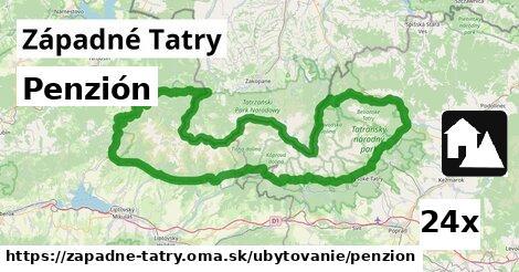 ilustračný obrázok k Penzión, Západné Tatry