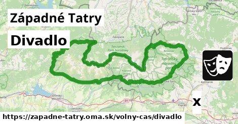 ilustračný obrázok k Divadlo, Západné Tatry