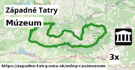 ilustračný obrázok k Múzeum, Západné Tatry
