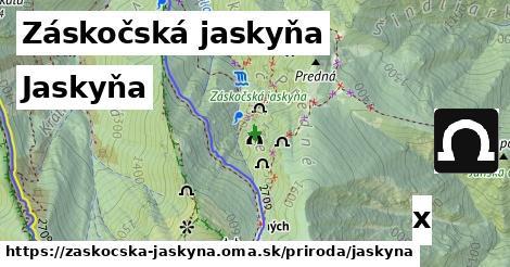 ilustračný obrázok k Jaskyňa, Záskočská jaskyňa