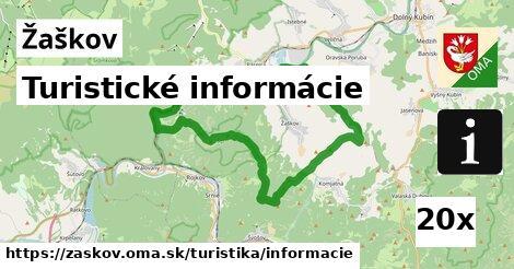 turistické informácie v Žaškov