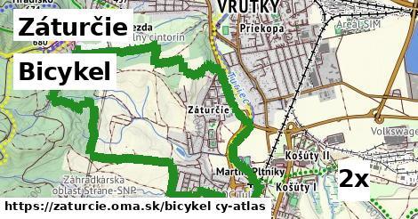 bicykel v Záturčie