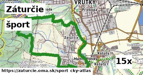 šport v Záturčie