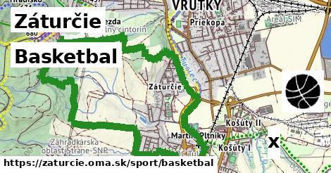 basketbal v Záturčie