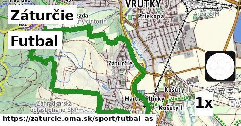 futbal v Záturčie