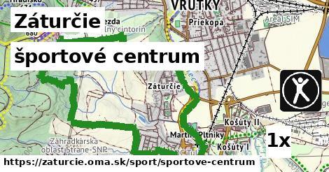 športové centrum v Záturčie