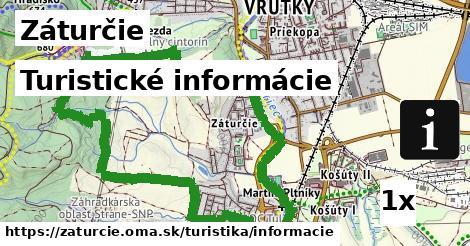 turistické informácie v Záturčie