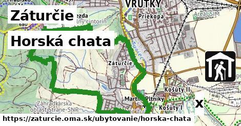 horská chata v Záturčie