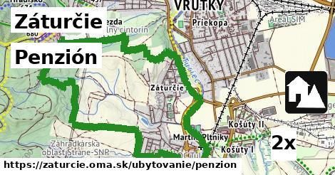 penzión v Záturčie