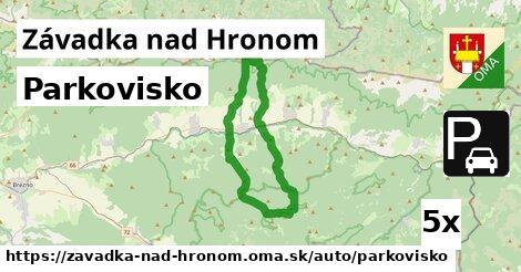 ilustračný obrázok k Parkovisko, Závadka nad Hronom