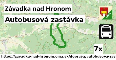 ilustračný obrázok k Autobusová zastávka, Závadka nad Hronom