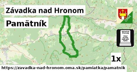 ilustračný obrázok k Pamätník, Závadka nad Hronom