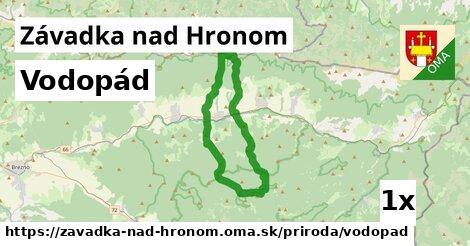 ilustračný obrázok k Vodopád, Závadka nad Hronom