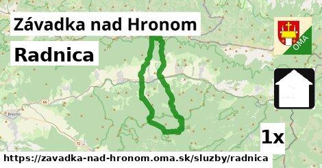 ilustračný obrázok k Radnica, Závadka nad Hronom
