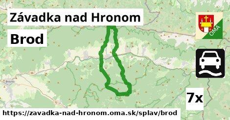 ilustračný obrázok k Brod, Závadka nad Hronom
