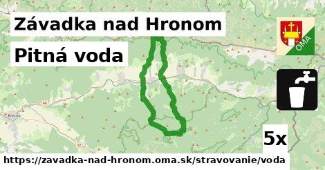 ilustračný obrázok k Pitná voda, Závadka nad Hronom