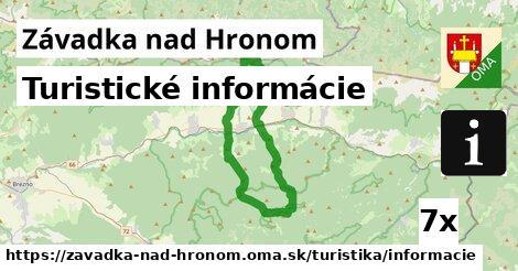ilustračný obrázok k Turistické informácie, Závadka nad Hronom