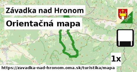 ilustračný obrázok k Orientačná mapa, Závadka nad Hronom