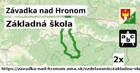 ilustračný obrázok k Základná škola, Závadka nad Hronom