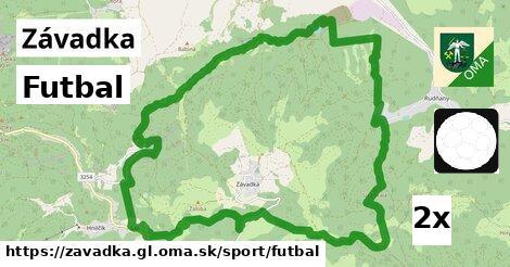 ilustračný obrázok k Futbal, Závadka, okres GL
