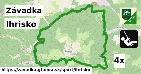 ilustračný obrázok k Ihrisko, Závadka, okres GL