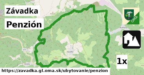 ilustračný obrázok k Penzión, Závadka, okres GL