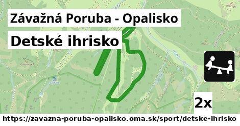 ilustračný obrázok k Detské ihrisko, Závažná Poruba - Opalisko