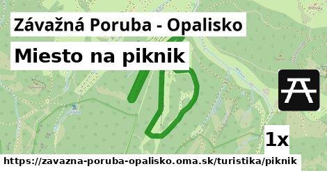 ilustračný obrázok k Miesto na piknik, Závažná Poruba - Opalisko