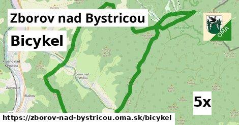 bicykel v Zborov nad Bystricou