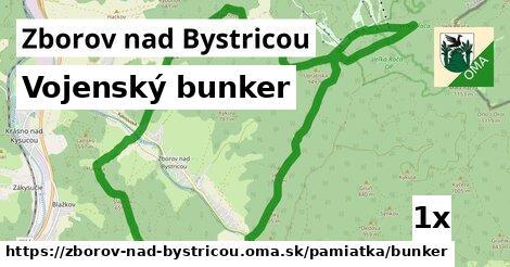 vojenský bunker v Zborov nad Bystricou