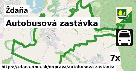 ilustračný obrázok k Autobusová zastávka, Ždaňa
