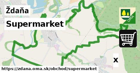 ilustračný obrázok k Supermarket, Ždaňa