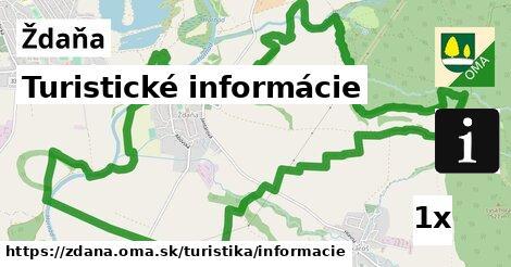 ilustračný obrázok k Turistické informácie, Ždaňa