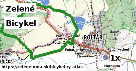 bicykel v Zelené