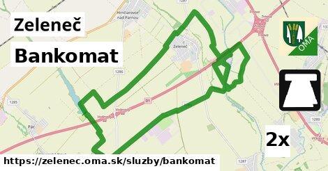 ilustračný obrázok k Bankomat, Zeleneč
