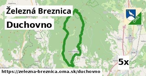 duchovno v Železná Breznica