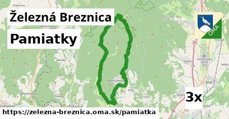 pamiatky v Železná Breznica