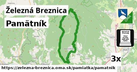 pamätník v Železná Breznica