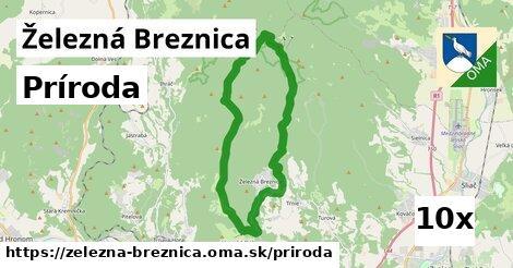 príroda v Železná Breznica