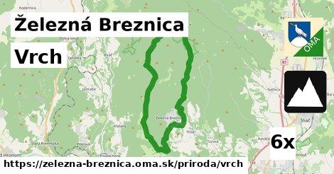 vrch v Železná Breznica