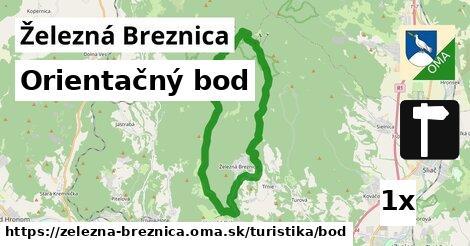 ilustračný obrázok k Orientačný bod, Železná Breznica