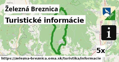 turistické informácie v Železná Breznica