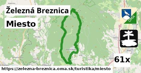 miesto v Železná Breznica