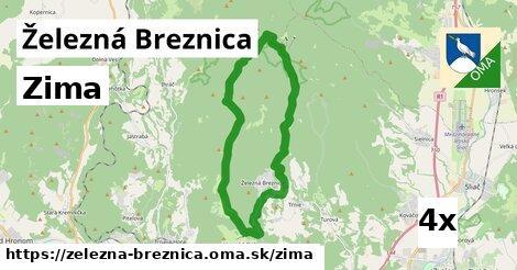 zima v Železná Breznica
