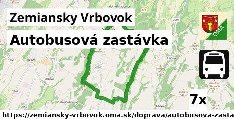 ilustračný obrázok k Autobusová zastávka, Zemiansky Vrbovok