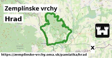 ilustračný obrázok k Hrad, Zemplínske vrchy