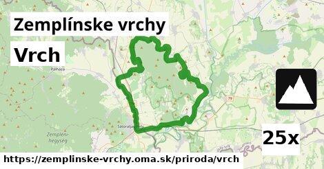 ilustračný obrázok k Vrch, Zemplínske vrchy